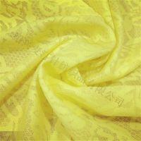 黄柯桥厂家现货款针织提花蕾丝打底衫裙料时装面料复合用布
