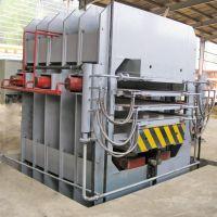 供应青岛国森机械制造高精度径面侧压竹地板设备生产线