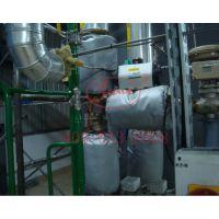 克拉玛依市可拆卸玻璃钢材质阀门保温套、抗老化表面、内衬保温层设计