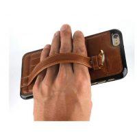 外贸iphone6手机壳 6S手带插卡 新款手机保护套 苹果6手机皮套