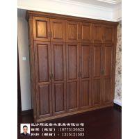 长沙定制家具价格清漆工艺实木餐桌、酒柜订做行业领先者