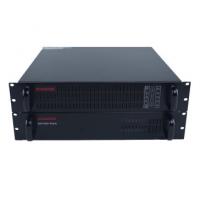 佳木斯市机房ups电源2KVA机架式山特C2KRS+B9081电池包安装
