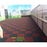 珠海南屏有没有批发橡胶地板 幼儿园或小区专用防滑防潮橡胶垫款式和价格