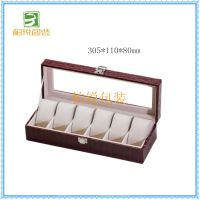 高端手表盒加工 手表展示设计盒 家用手表装饰盒生产