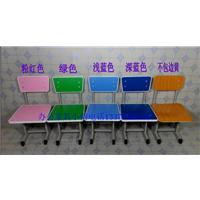 学生课桌椅,塑钢课桌椅,天津单人升降学习桌