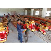 供应端午节标准尺寸龙舟,国际玻璃钢比赛龙舟及配件