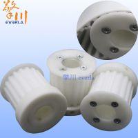 广州擎川直销POM塑料同步带轮 加工定制