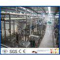5000LPH UHT Milk Processing Equipments , Aspetic Bottle Packing Milk Production Line