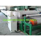 Rubber Underlay Machinery Carpet Making Machine Low Power Consumption