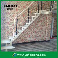 家用室内楼梯/结实钢木结构的楼梯/大气时尚阁楼直型楼梯YMD-1141