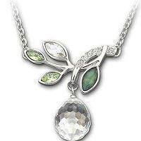 锆石合金项链批发定制,韩版饰品,流行挂饰,高档工艺品饰品,玻璃珠
