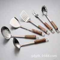 A97-新品不锈钢厨具套装 锅铲6件套厨房用品 烹饪工具