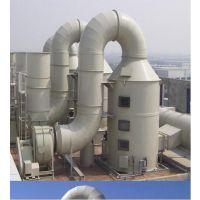 玻璃钢脱硫塔 湿式一体化除尘器 烟气烟尘净化器 双层旋流脱硫塔