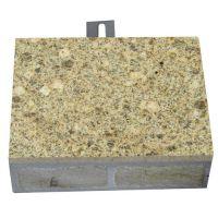 湖北黄麻超薄石材复合保温板