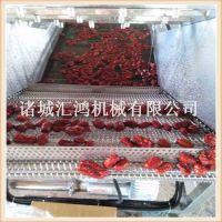 山西大枣清洗机 专业的红枣清洗流水线 枣子加工设备厂家HQL-3500汇鸿