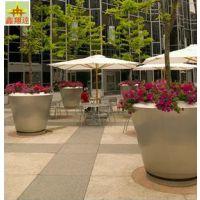 鑫翔达市场直营不锈钢花盆 景观花盆园林设计 广场专用金属花箱
