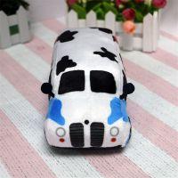 动物牛牛造型毛绒汽车玩具厂家直销可来图打样