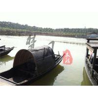 楚风木船厂家直销装饰乌篷船小木船摆件等服务类船
