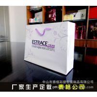 广告礼品手挽袋 订做纸袋白卡购物手提袋 服装纸袋定做印刷生产厂