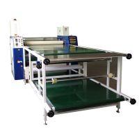 晓安厂家直销滚筒布匹升华热转印机 服装加工辅助设备 滚筒印花机