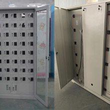 湖南手机充电柜价格 学生手机柜供货商 玻璃外罩48门手机柜多少钱