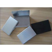 厂家供应锌合金名片盒免费设计 北京定做高档锌合金名片盒工艺精湛信誉厂商