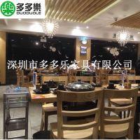 深圳家具厂家生产大理石蒸汽火锅台 蒸汽全套火锅桌餐桌大理石台圆桌
