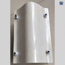 供应玻璃钢收水器 160-45的收水器一平多少钱 厚度0.5mm 防老化的耐高温片材 河北华强