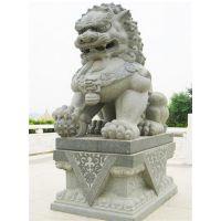 石雕狮子,坚美花岗岩,石雕狮子门墩