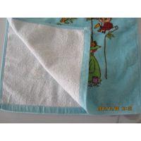 厂家直销纯棉32线印花毛巾