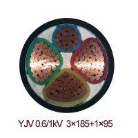 供应齐鲁牌裸铜线多芯交联塑料绝缘聚氯乙炔护套电力电缆价格优惠质量 YJV32 1*25