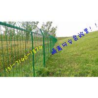 湖北南水北调大型工程用围网安装效果/厂家便宜生产各种水边安全隔离网(详情)