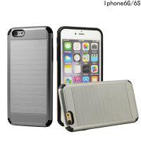新款拉丝战神二合一 iphone6/6s保护套 外贸爆款苹果6/6S手机壳
