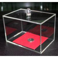 化妆品收纳盒 首饰盒 化妆盒 亚克力收纳 桌面 透明抽盖式 棉签盒