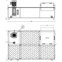 数控机床配套用冷却水箱