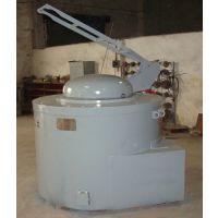 环保然气炉 金力泰天然气坩埚熔炼炉