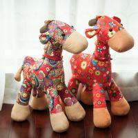 厂家批发毛绒玩具新款布娃娃长颈鹿公仔创意动漫周边爆款儿童玩具