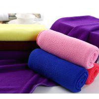 龙岗超细纤维浴巾批发 加厚吸水浴巾 沙滩巾定制