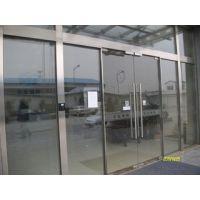 太原玻璃推拉门 太原玻璃门安装 太原感应门15234131793