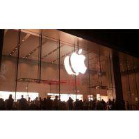 苹果手机卖得好,原来是店铺广告招牌制作的到位!