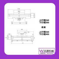 精密铸铁机械滑台 数控机械滑台数控十字滑台机床滑台WD3026