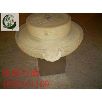 现林石磨-供应商用电动石磨豆浆机-诚信可靠绿色砂岩打造