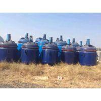 江苏出售二手5吨搪瓷反应釜全新,二手10吨搪瓷反应釜5台
