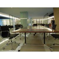 众晟家具办公家具会议桌定制 现代时尚EAMES款会议台 板式办公会议桌批发厂家