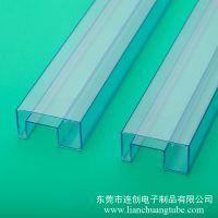 高品质塑料三极管包装管厂商 防静电耐用ic包装管厂家定做