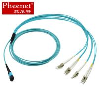Pheenet菲尼特MPO-LC 8芯万兆光纤跳线 MTP光纤线