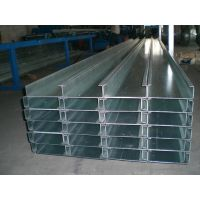 16#国标C型钢 镀锌带钢 屋顶檩条 钢结构龙 深圳厂家批发价格
