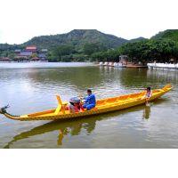 传统比赛龙舟生产厂家 木制龙舟制造单位