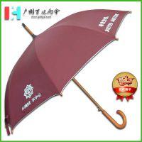 【木中棒雨伞厂】定东翰园纯木广告伞_纯木太阳伞雨伞_木质高档伞