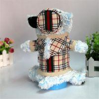 毛绒玩具厂家创意设计小狗造型高尔夫球杆套可定制批发